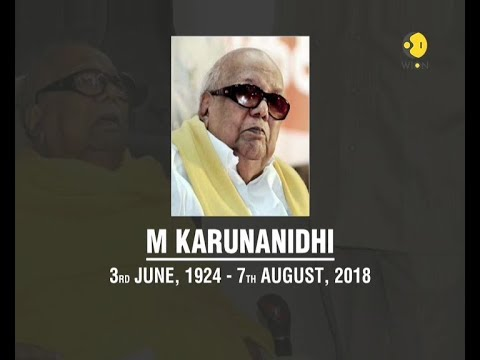 DMK chief Karunanidhi dies after prolonged illness thumbnail
