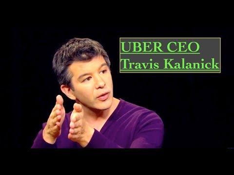 Uber CEO Travis Kalanick Interview with Charlie Rose