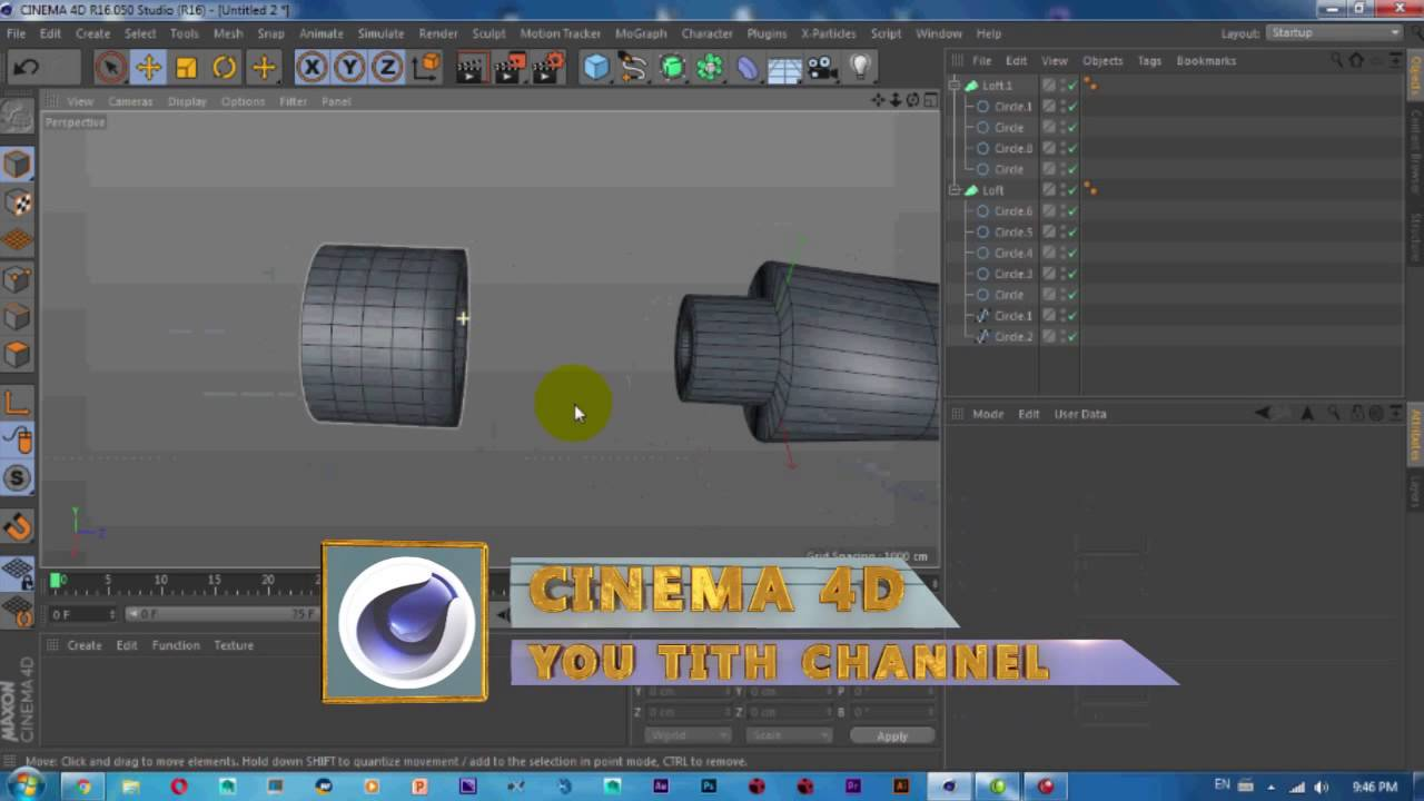 Cinema 4D Tutorial | How to Modeling Toothpaste in Cinema ...