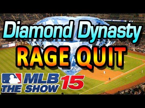MLB 15' the Show Diamond Dynasty Rage Quit
