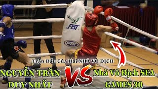 Full Match NGUYEN TRAN DUY NHAT VS UNION SEA GAMES 30 | The 2020 National Muay Finals