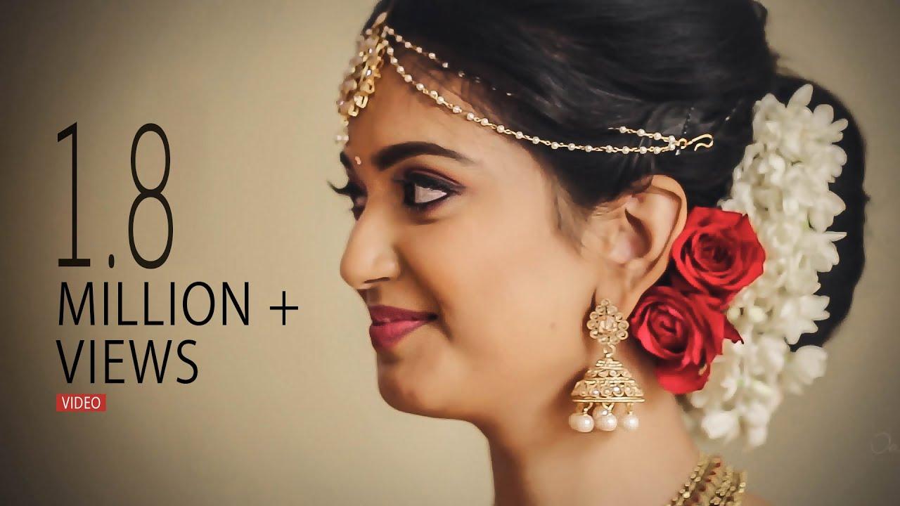 kerala hindu wedding highlights video | nikki & preeth - youtube