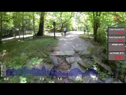 Jemison Park Nature Trail, Mountain Brook Alabama