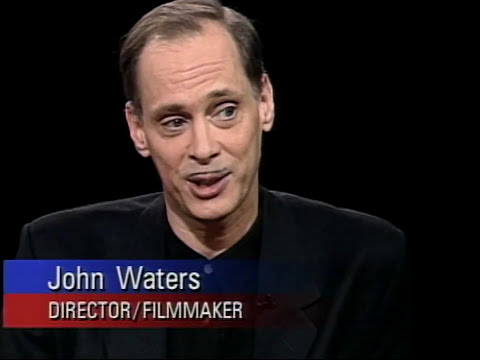 John Waters interview on Charlie Rose (1994)