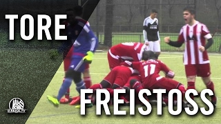 Freistoßchip aus 25 Metern von Kamil Can Eryalcin (FC Türkiye, U19 A-Junioren) | ELBKICK.TV