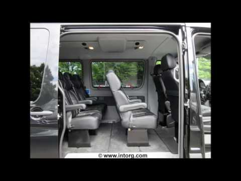 mercedes benz sprinter captain chairs seats livery edition bucket limousine van youtube. Black Bedroom Furniture Sets. Home Design Ideas