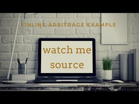 Watch Me SOURCE Online | Part 1/2 | amazon and ebay online arbitrage