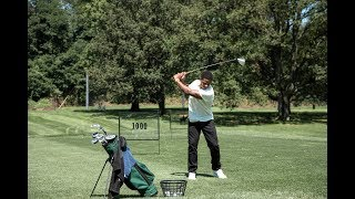 New York Star Sterling Shepard Puts His Golf Swing and His Levi's® Jeans To The Test