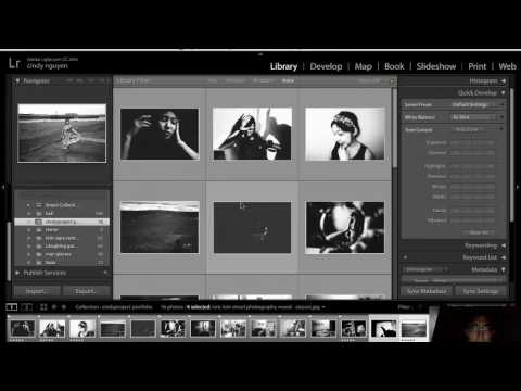How I Edit My Photo Projects in Lightroom / Make a Slideshow in iMovie