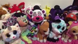 FNAF VERSUS BEANIE BOOS! WHO WILL WIN??? FIGHT PLUSHIES