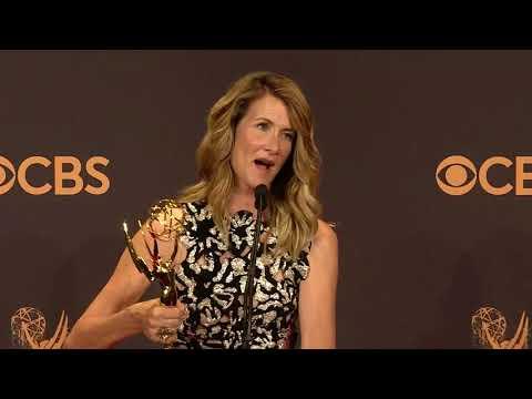 Laura Dern - Full Backstage Interview - Emmys 2017