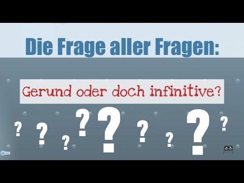 Gerund oder doch infinitive? - YouTube