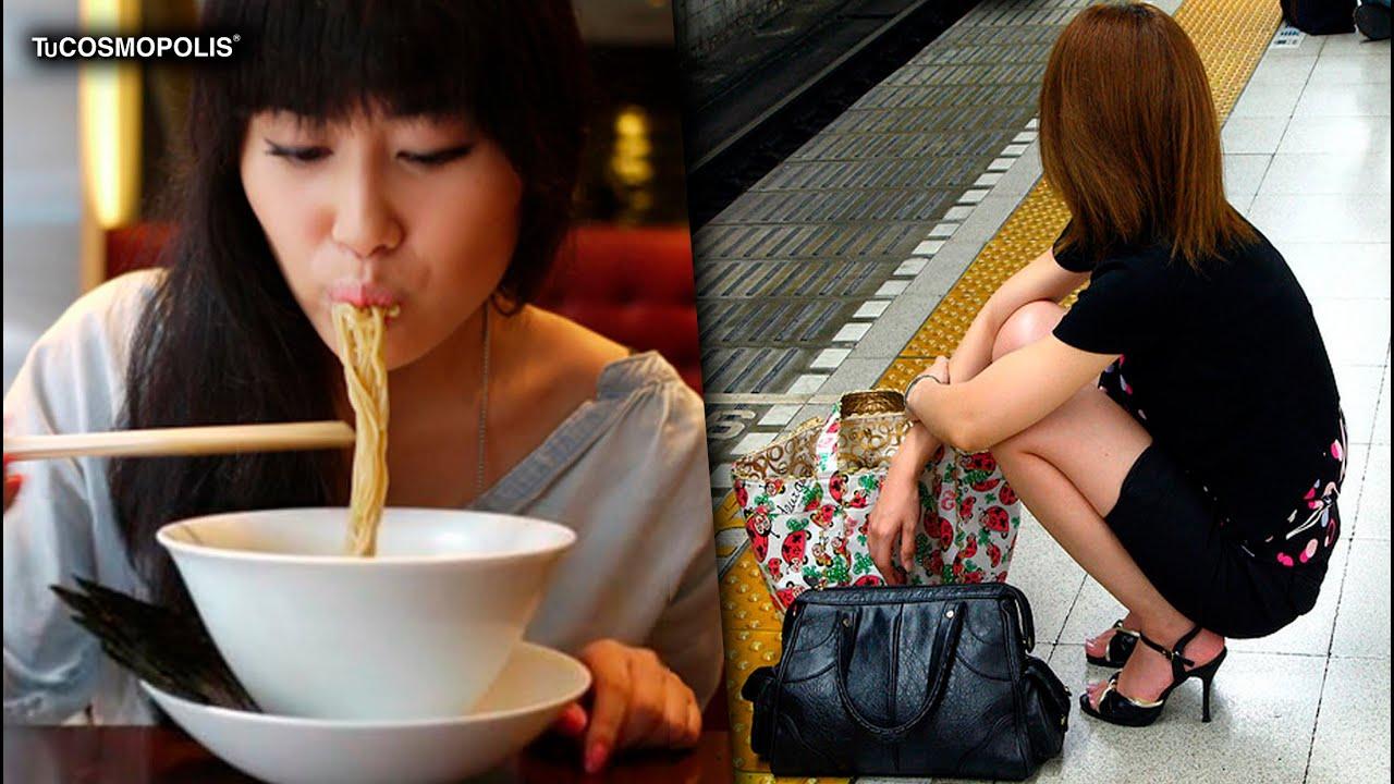 COSTUMBRES EXTRAÑAS de JAPÓN en MENOS de 5 MINUTOS