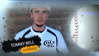 Redding Colt 45s - 2013 Players - Tommy Bell