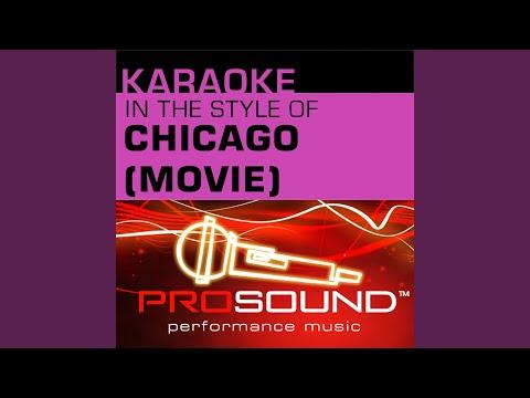 All That Jazz (Karaoke Instrumental Track) (In the style of Catherine Zeta-Jones)