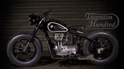 1951 BMW R25 modified bobber by Thornton Hundred