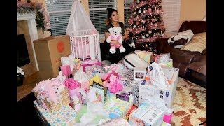 Regalos De Baby Shower Para Nina | Baby Girl Shower Haul | Spanglish |2017