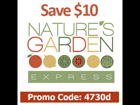 nature 39 s garden express promo code save 10 use code 4730d youtube