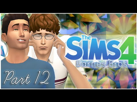 The Sims 4 Barnes Bros - {Part 12} First Kiss & Angry Poop!