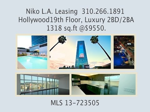 Niko L.A.Leasing Presents This Amazing Hollywood Sunset Blvd. Apartment Lease @ $9550.00 Per Month.