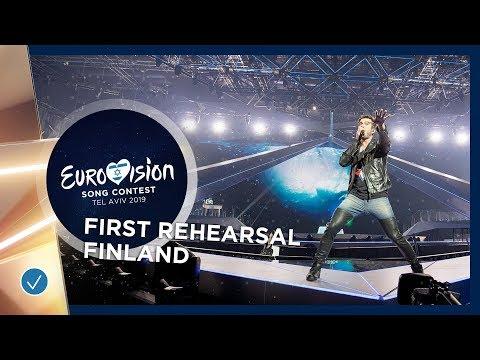 Darude feat. Sebastian Rejman - Look Away - Finland 🇫🇮 - First Rehearsal - Eurovision 2019