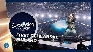 Finland 🇫🇮 - Darude feat. Sebastian Rejman - Look Away - First Rehearsal - Eurovision 2019