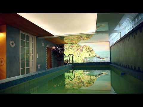 ClickWall swimming pool wall