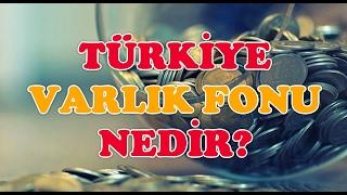 Türkiye Varlık Fonu Kanunu Nedir? İşte Detaylar...