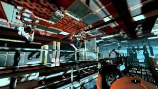 Let's Play Portal 2: Part 3 - Progressed Brain Damage, Light Bridges, Turrets