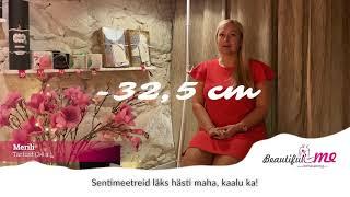 ✅ Rullmassaažiga -32,5 cm / Merili Tartust