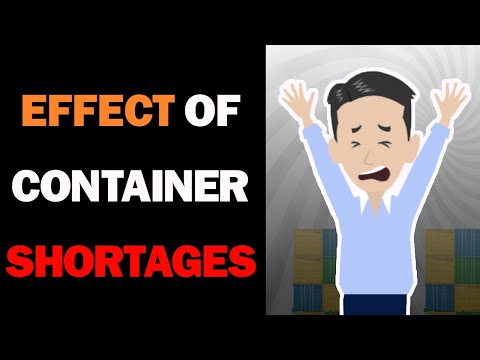 Effect of Container Shortage in 2020! Reason why big Ocean Freight increase and Vessel Delay.