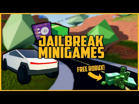 Free Robux Giveaway Roblox Jailbreak Minigames Winners