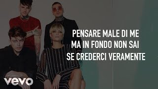The Kolors & Elodie - Pensare Male (Testo/Lyrics)