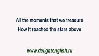 Песни на английском языке с переводом Chilly Simply A Love Song