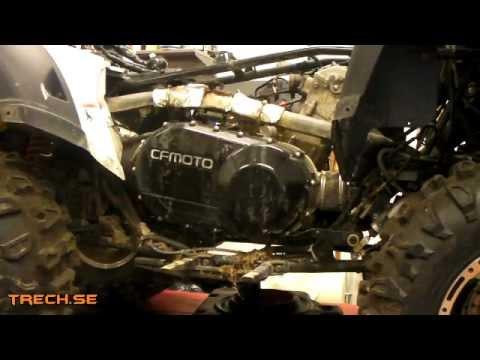 kopplingsbyte CF Moto