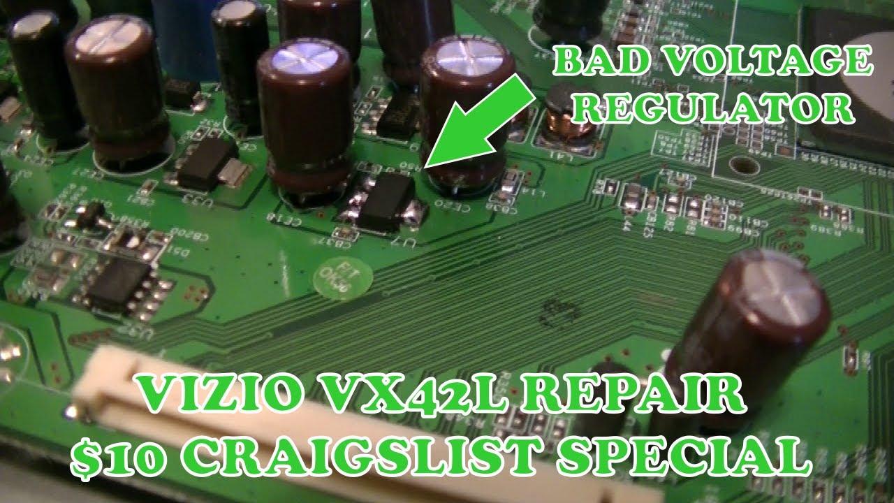 Vizio VX42L Repair