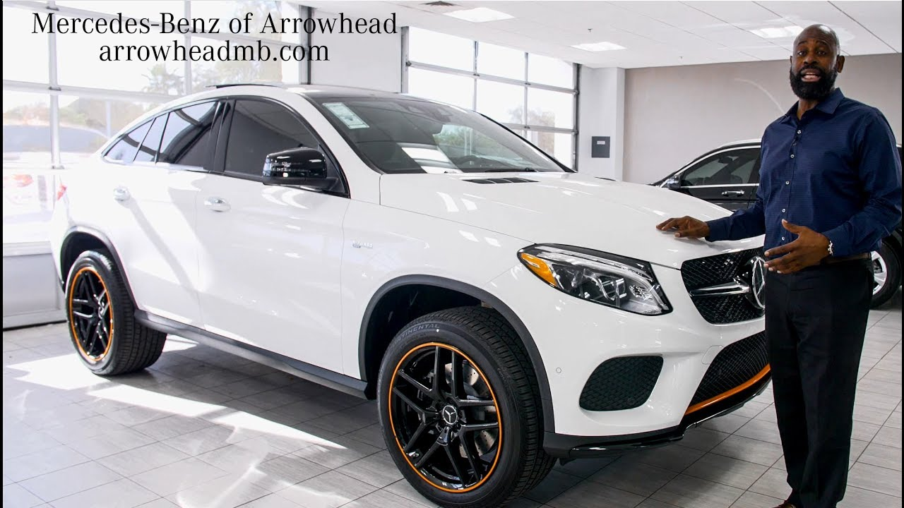 Stylish And Notable The 2018 Mercedes Benz Gle Amg 43 Coupe From Mercedes Benz Of Arrowhead Youtube