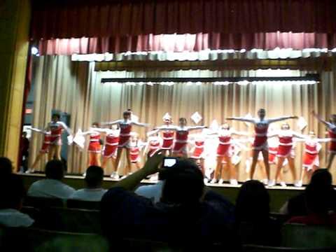 Stockard Middle School Cheerleaders 12 15 2010 Youtube