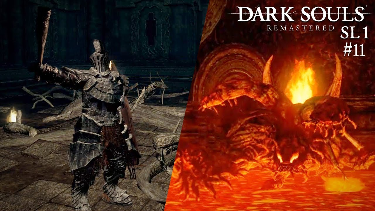 🔥 Demon Firesage und Centipede Demon - Dark Souls: Remastered SL1 #11