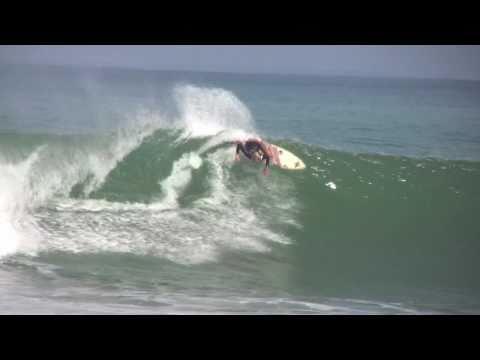 Noe Mar McGonagle surfing Pavones, Costa Rica