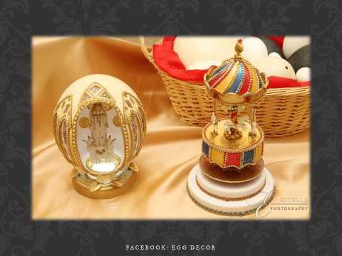 Collection of Egg Art by Claudia - Egg Decor Malta
