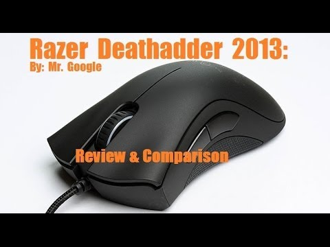 Razer Deathadder 2013+: Review and Comparison and Razer Synapse explained  [The best gaming mouse?]