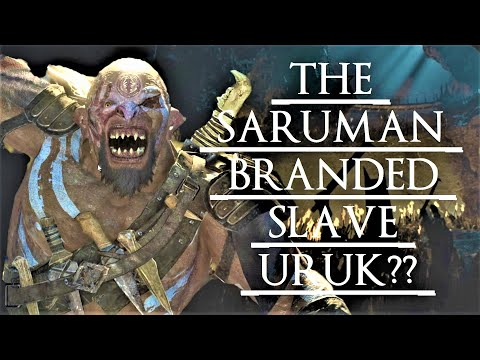 Shadow of War: Middle Earth™ Unique Orc Encounter & Quotes #227 THE SARUMAN BRANDED SLAVE URUK