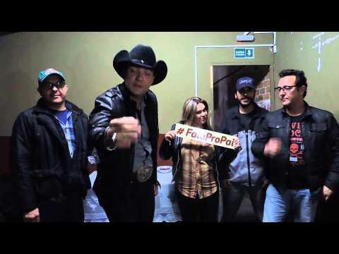 Bastidores com a Banda RedNeck Country music Fala Pro Pai com o Pai