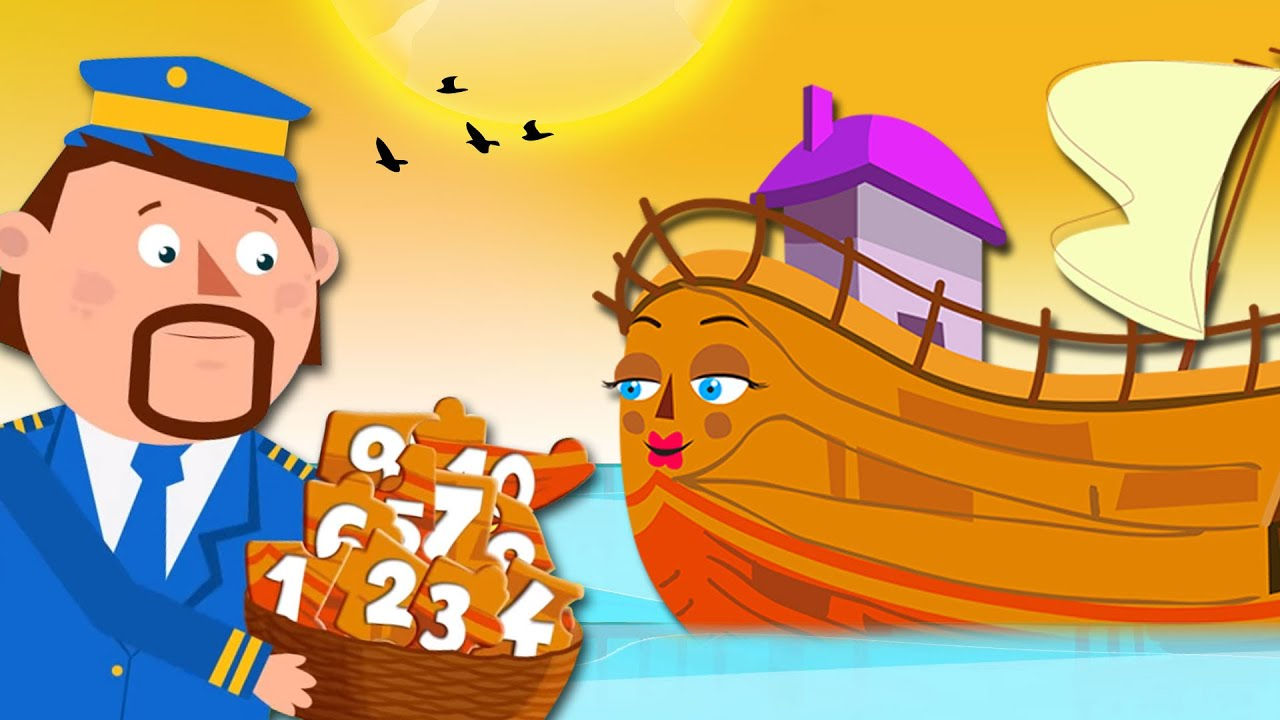 Learn Numbers With Captain Discovery | English Kids Songs And Rhymes