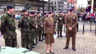 British Army Soldiers Flashmob Gangnam Style!!!!