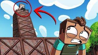 Minecraft Battle Royale - WORLDS TALLEST BASE! (Fortnite in Minecraft)