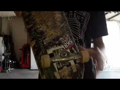 Loosest Trucks Ever!! (NO BUSHINGS) Daewon Song Challenge!!!