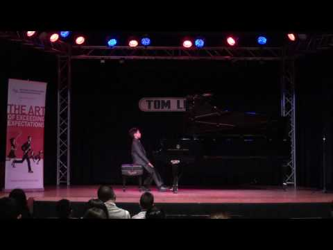 Paul Wang (9) in the 10-year-old category of CMC 2017 Piano - National Audition