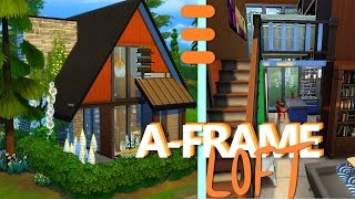 TINY A-FRAME LOFT - The Sims 4 House Building